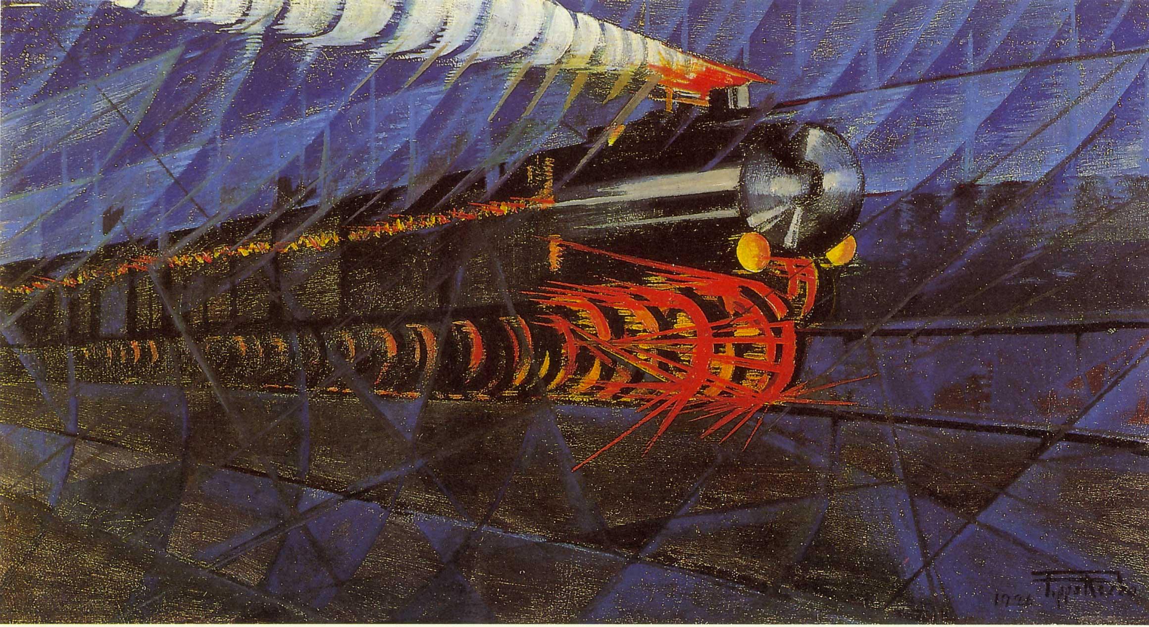 Treno-notturno-in-corsa