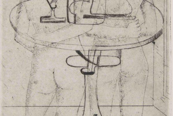 tavolo futurismo uomo e donna