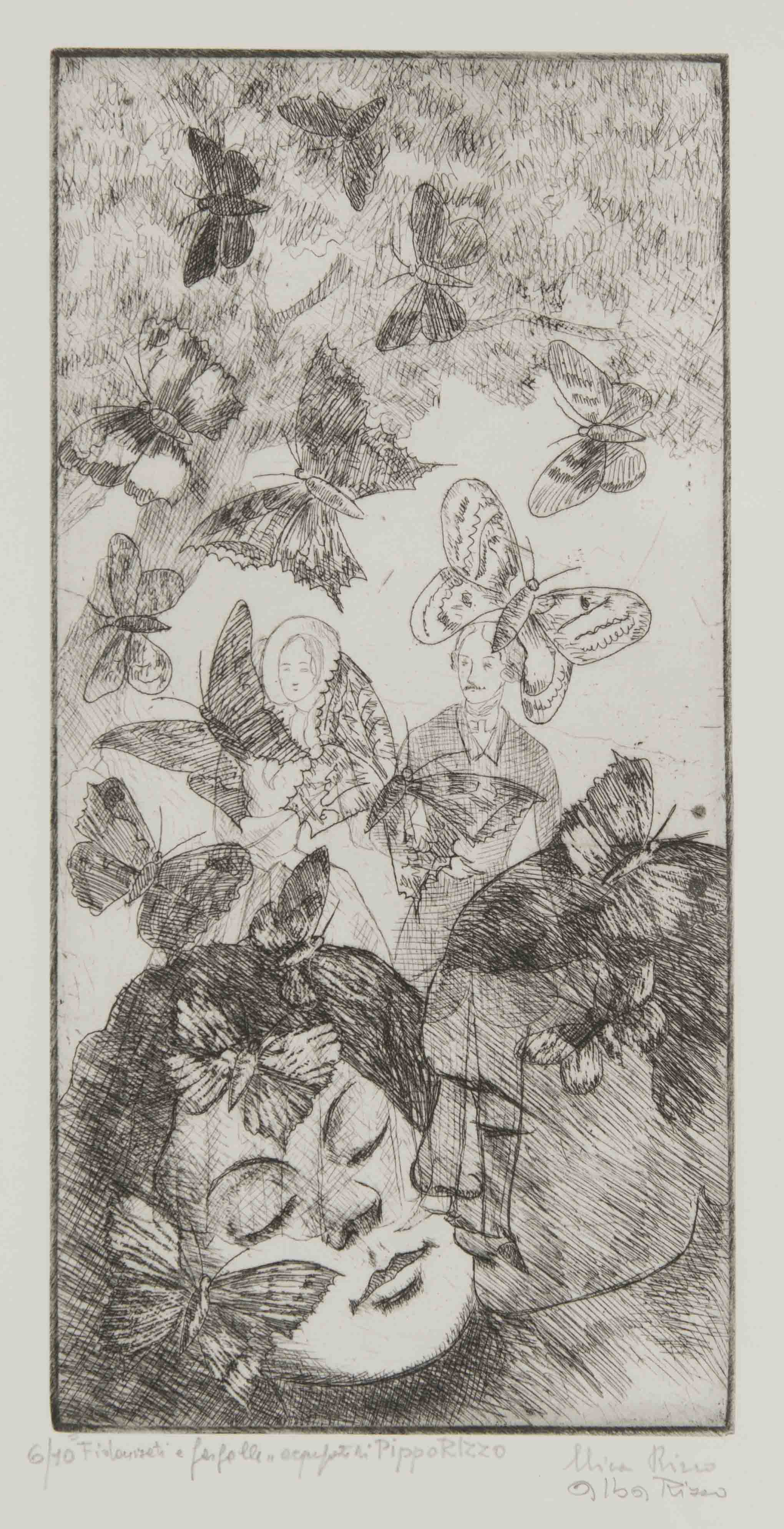 Fidanzati e farfalle