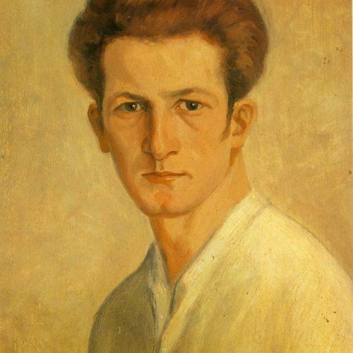 Autoritratto con camicia bianca - 1923