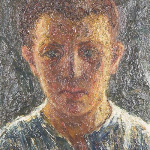 Ragazzo con camicia scura - 1917