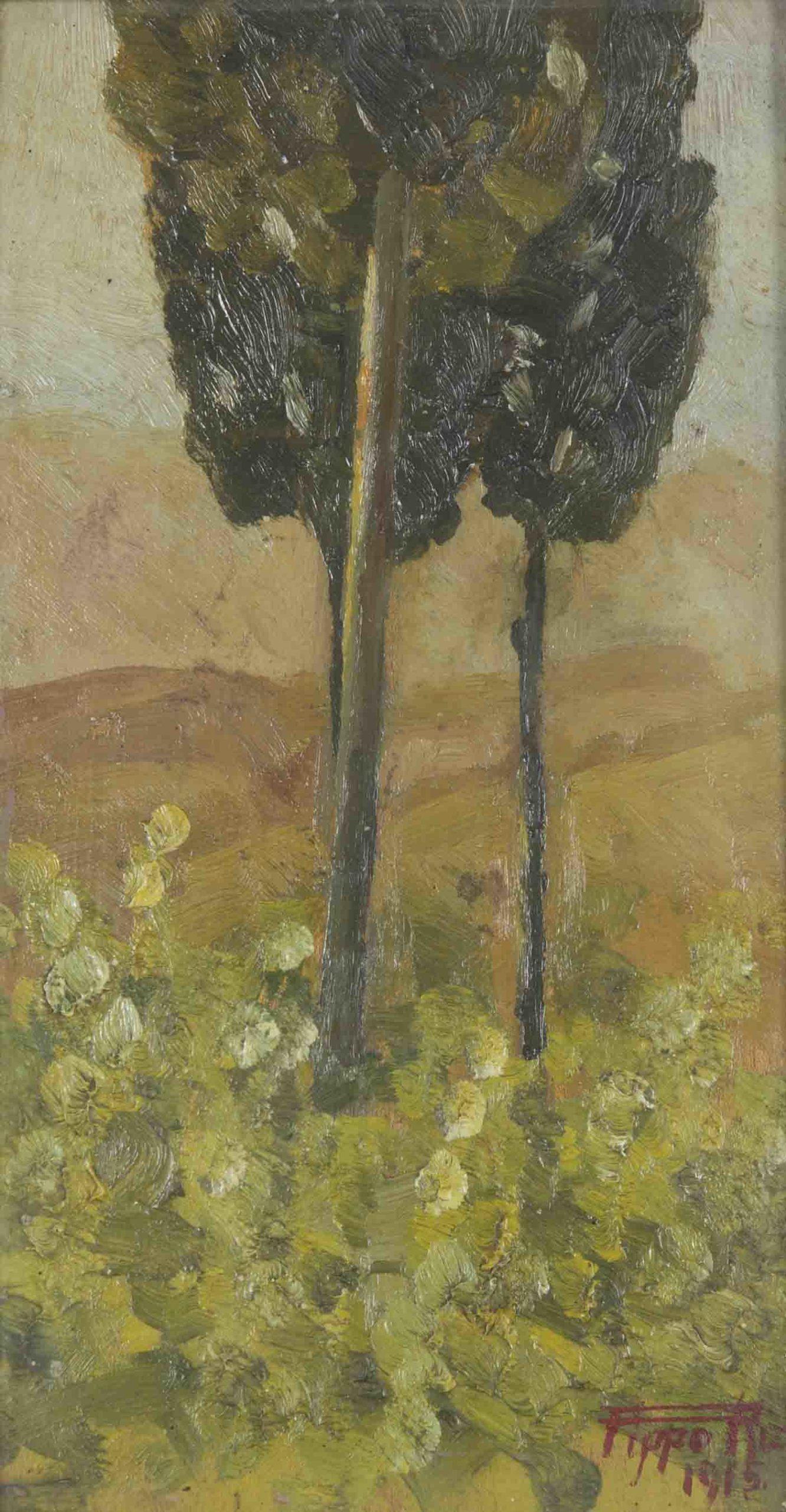 Due alberi - 1915