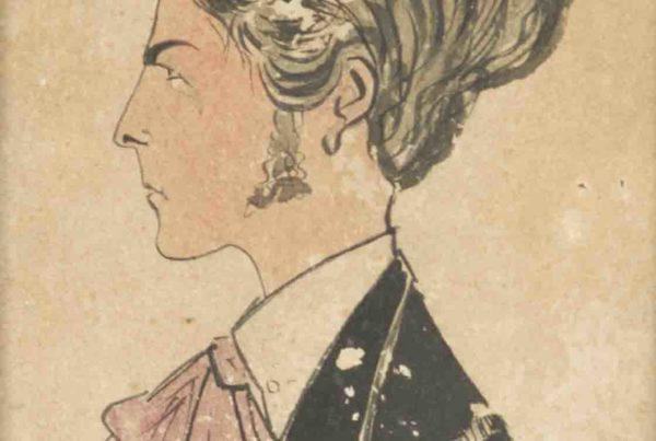 Autoritratto (caricatura) - 1916
