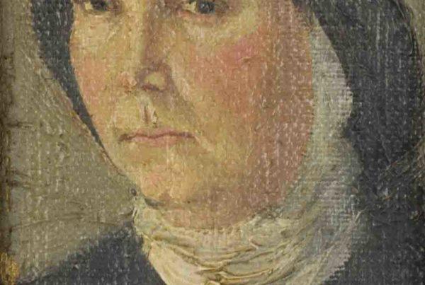 Ritratto della sorella monaca - 1915